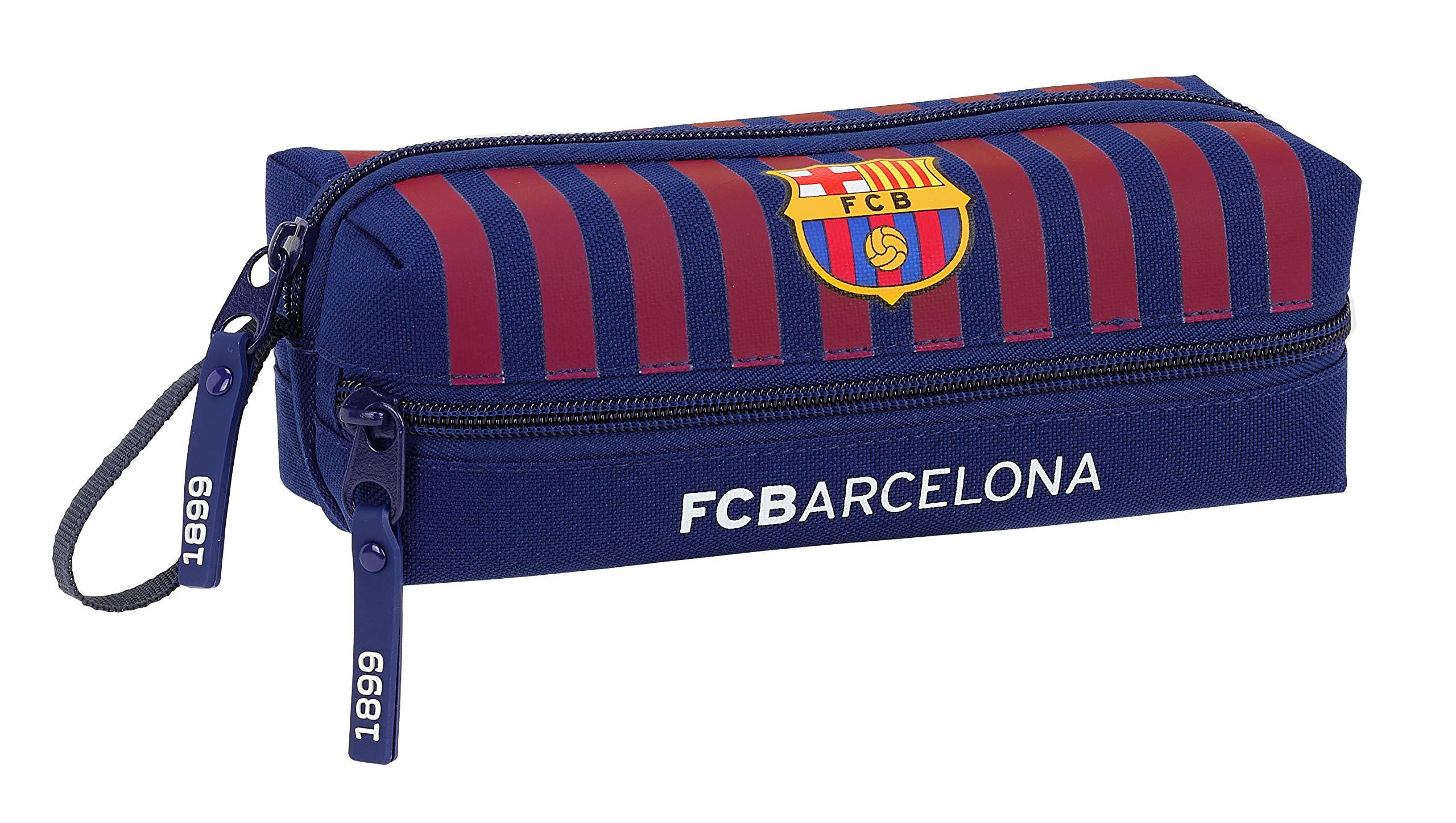 Estuches Escolares FC Barcelona - Mejor Precio 2019  fbeb116afbc