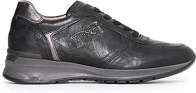 Nero Giardini A719220D Sneakers Donna in Pelle E Camoscio