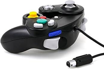 CSL - Nintendo GameCube Gamepad / Controller - Nintendo Wii / Wii U Gamepad - Vibrationseffekt - schwarz