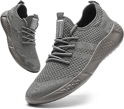 BUBUDENG Scarpe Ginnastica Uomo Scarpe Sneakers Ginnastica Running Trekking Palestra Uomo Sportive Offerta da Corsa Lavoro Moda Sneakers Walking Casual Running Shoes Gym Sport Tennis Shoes
