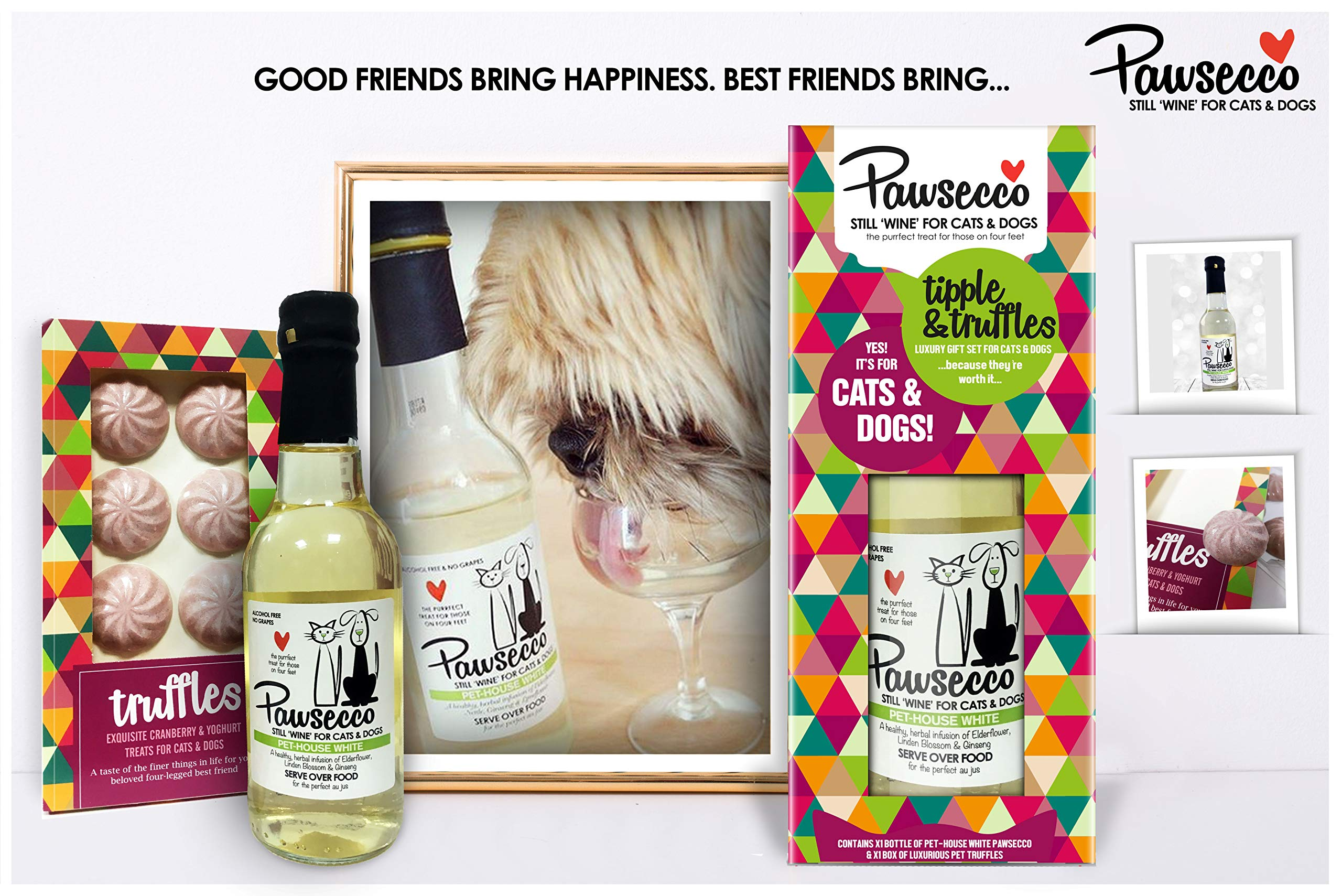 Woof-Brew-Luxury-Pawsecco-Pet-House-Rose-Wine