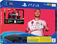 PlayStation 4 Slim - console (1TB, zwart) incl. FIFA 20 + 2 DualShock Controller