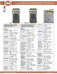 MECO Digital 108B+ TRMS Multimeter Pocket Size