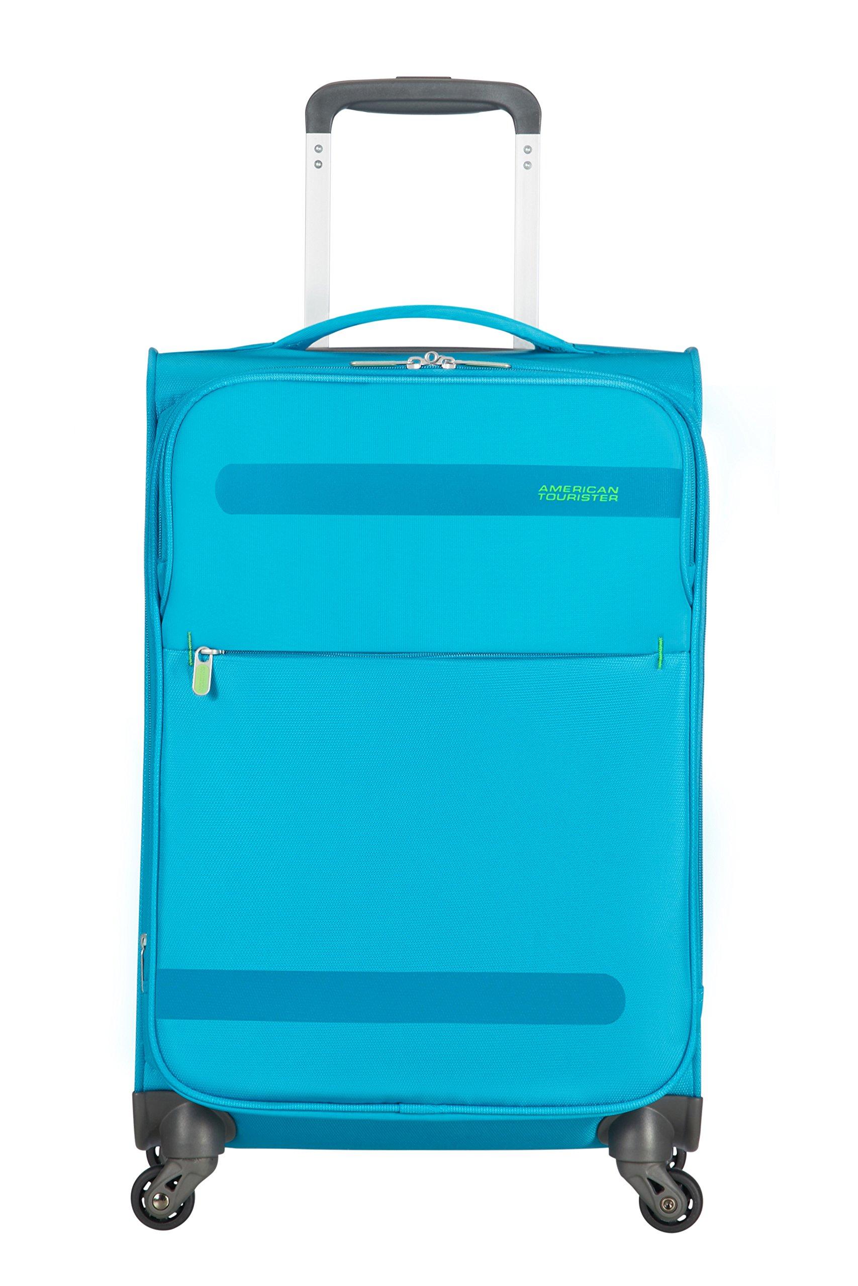 American Tourister Herolite Maleta, Azul (MIDNIGHT BLUE), S EXP (55cm-42L)