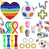 LIGEDG Fidget Toys Pack, Fidget Toys for Anti Stress Enfant, P-óp It Pack(24 Pièces) Peuvent Offrir Plusieurs Choix De Jeu po