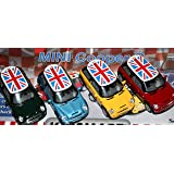Yellow Mini Cooper S Die-Cast Collectible Toy Vehicle Master Toy SG/_B00FYUBSPW/_US