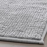 Toftbo Ikea'S Microfiber Bath Mat (Grey)