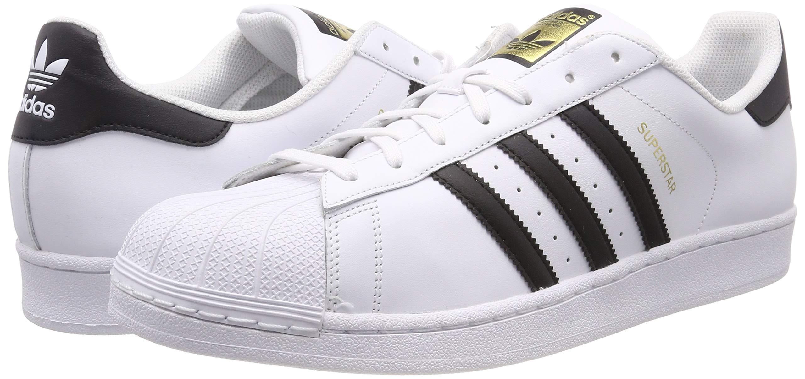 huge selection of 9a3a0 3bf97 Adidas Originals Superstar Scarpe da Ginnastica Unisex – Adulto, Bianco ...