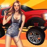Repariere meinen Truck: 3D Mechanik-Simulation: Maßgefärtigter, geländegängiger Pick-Up Truck mit Allradantrieb FREE