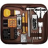 Eventronic Tool Kit Professionale di Riparazione Orologi, Attrezzi di Apertura Orologi e kit di Riparazione Orologio e portab