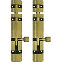 Atlantic Zaylo Tower Bolt 4 inch (Aluminium, Antique Finish, Pack of 2 Piece)