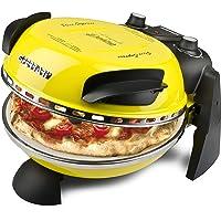 Four à pizza G3 Ferrari Delizia, 1200 W, 1 litre, 0 décibel, acier inoxydable, Jaune (Classe d'efficacité énergétique A)