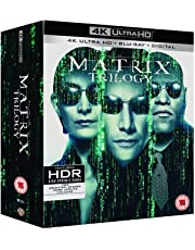 The Matrix Trilogy: The Matrix + the Matrix Reloaded + The Matrix Revolutions (4K UHD + HD + Blu-ray Bonus Disc) (9-Disc Box Set) (Slipcase Packaging) (Fully Packaged Import)