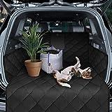 Dunlop Kofferbakbescherming, beschermmat, hondenaccessoires, blikseminbouw, antislip, waterdichte kofferbakdeken met autobump