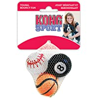 Kong Sport Balls Dog Toy Assorted, Small (3 Pack)