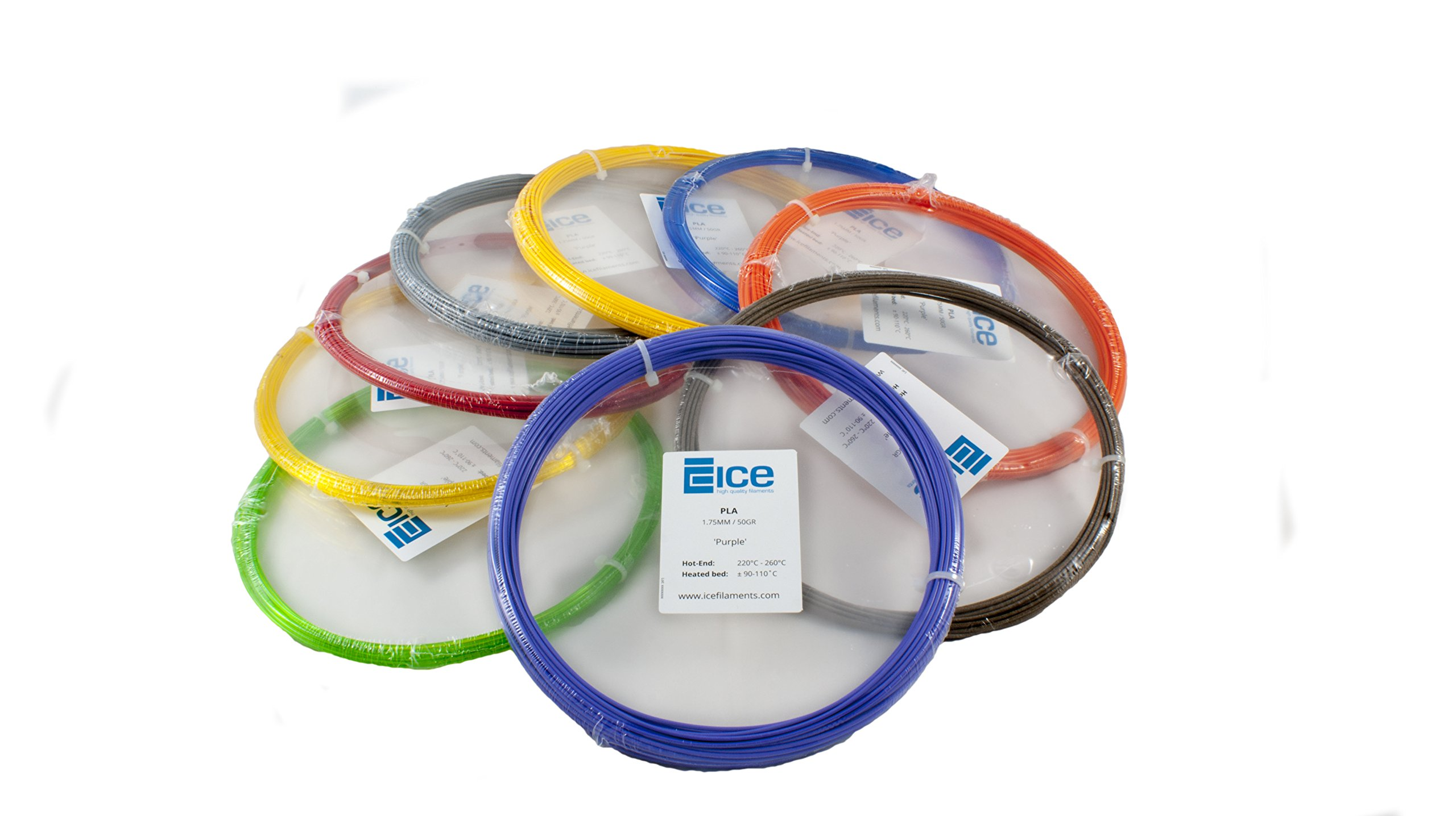 ICE FILAMENTS ICE30FUN079 FLEX Filament Marron 1,75 mm 50 g