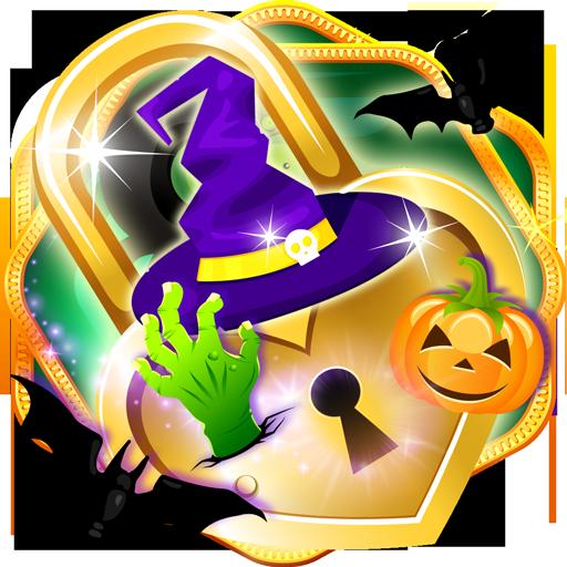 Smart App Schloss Halloween-Thema (Coole Jack-o-laternen Halloween)
