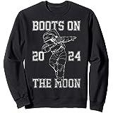 Netflix Space Force Boots On The Moon 2024 Sweatshirt