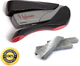 Infomate Feather Touch Multi Page Stapler (Child Lock)