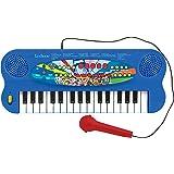 Lexibook- Paw Patrol Pat'Patrouille Clavier électronique, Piano 32 Touches, Microphone pour Chanter, 22 Morceaux de démonstra
