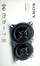Sony XS-FB102E Mega Bass 4-inch Speakers (Black)