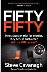 Fifty-Fifty: The explosive follow up to THIRTEEN Kindle Edition
