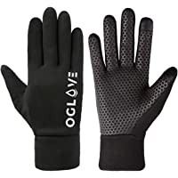 OGLOVE Waterproof Thermal Sports Gloves for Kids, Touchscreen Sensitive Field Gloves with Palm Grip for Football, Rugby…