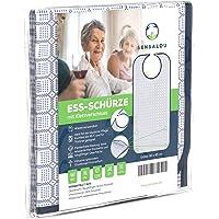Sensalou Lätzchen Ess-Schürze Ess-Latz für Erwachsene Senioren mit Auffangtasche