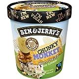 Ben & Jerry's Non-Dairy Ice Cream Chunky Monkey, 500ml (Frozen)