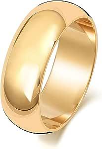 Anello Fede Nuziale Uomo/Donna 7mm in Oro giallo 9k (375) WJS150799KY