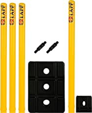 Klapp FOURSTMP Plastic Stump Wicket Set (Yellow)