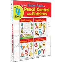 My First Super Boxset of Pencil Control and Patterns : Pack of 4 interactive activity books to practice Patterns…