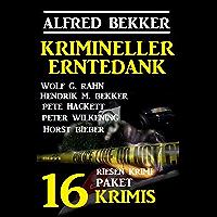 Krimineller Erntedank: Riesen Krimi Paket 16 Krimis