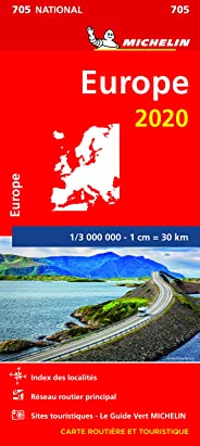 Carte Michelin Europe 2020