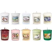 Yankee Candle Coffret avec 10Bougies Votives Parfumées, Parfums Assortis