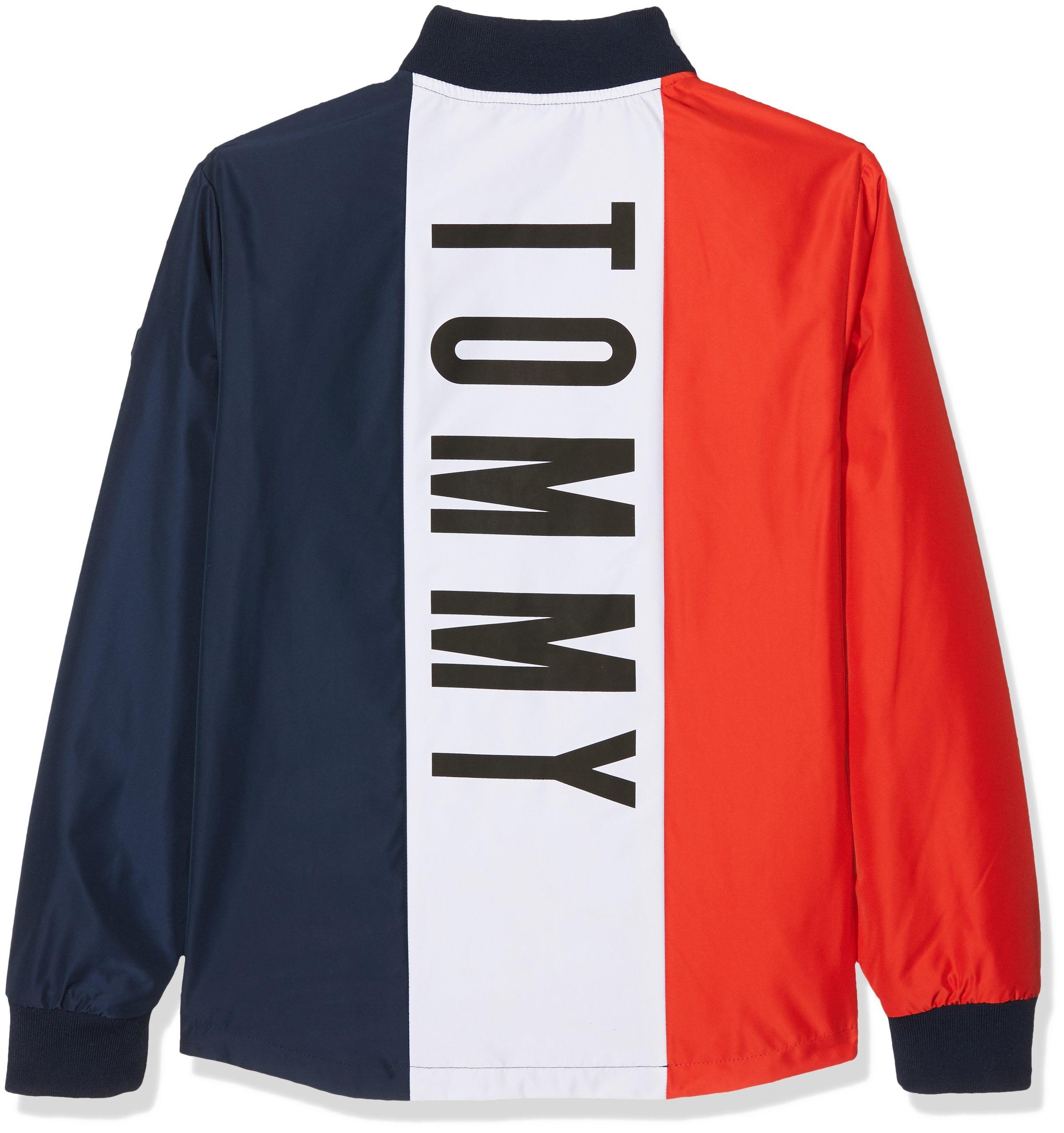Tommy Hilfiger S Reversible Cracker Jacket Chaqueta para Niños