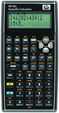 Wissenschaftlicher Taschenrechner in schwarz von HP - F2215AA HP35S