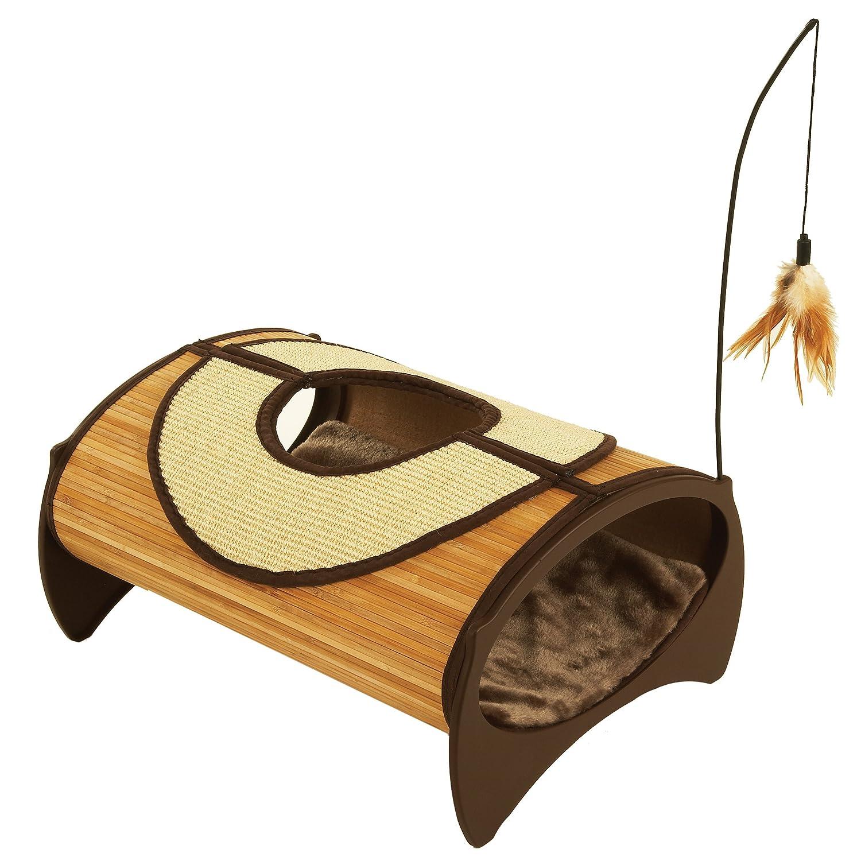 Rosewood Bamboo Cat Pod: Amazon.co.uk: Pet Supplies