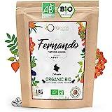 ORIGEENS CAFE GRAIN BIO 1kg   Café en Grain Arabica   Fernando - Single Origin Colombie   Torréfaction Artisanale