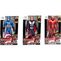 WOW Toys - Delivering Joys of Life|| Avengers Assemble Series|| Captain America|| Thor|| Iron Man|| Big and Realistic…