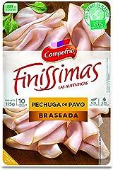 Campofrío Finissimas Pechuga de Pavo Braseada, 115g