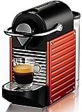 Nespresso Pixie - Machine espresso à dosettes - Rouge Électrique - Krups YY1202FD