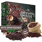 Adventskalender mit 480g Kaffee ganze Bohne Weihnachtskalender 2020 I edles Probierset zum Verschenken I Geschenkidee…