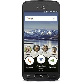 Doro 8040 Smartphone, 16 GB, Grafite