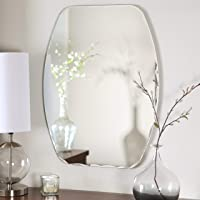 Quality Glass Frameless Mirror (Silver, 18 x 24 Inch)