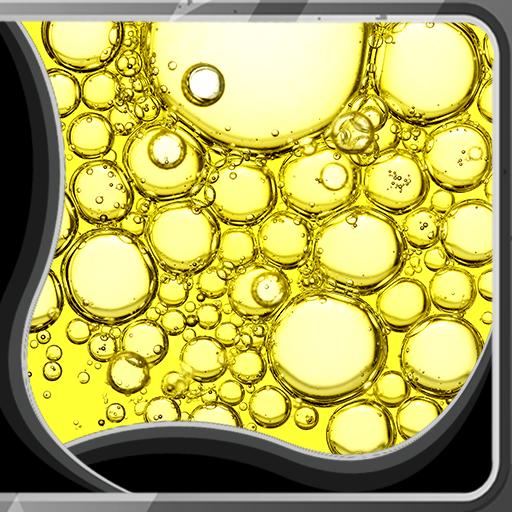 Oil Bubbles Live Wallpapers (Flüssigkeiten Schaums)