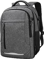 Laptop Rucksack 15,6 Notebook Rucksack Wasserdicht Usb Ladeanschluss Business Backpack Damen Herren Arbeit Schule Universität Daypack