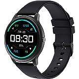 YAMAY Smartwatch Donna Uomo Orologio Fitness Cardiofrequenzimetro da Polso Contapassi Fitness Tracker Conta Calorie Impermeab