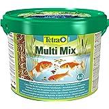 Tetra Pond Multi Mix - visvoer voor vijvervissen met vier verschillende soorten voer (vlokkenvoer, voedersticks, gammarus, wa