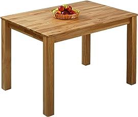 GroBartig Krok Wood Esstisch Massivholz Eiche 100% FSC Bonn Esszimmertisch Massivholz  Tisch